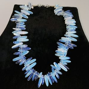 Jewelry - Hand Crafted Moonstone Bead Necklace